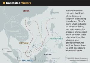 Figure 2: South China Sea Territorial Claims