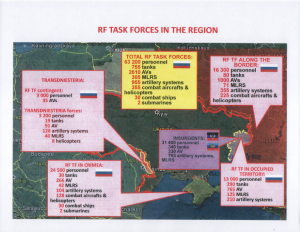 Russian Military in Ukraine Region