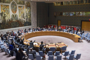 Security Council adopts historic resolution on youth, peace and security. UN Photo/Amanda Voisard